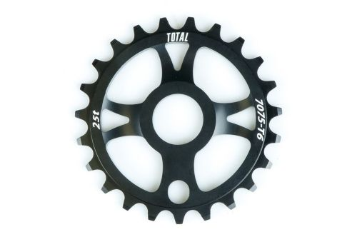 Total BMX Rotary Sprocket - Black 25 Tooth